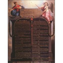 8 - Le 26 août 1789, l'adoption de la Déclaration des droits de l'homme et du citoyen