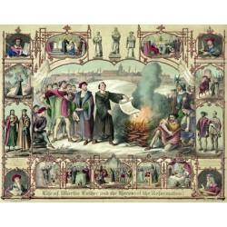 Le schisme luthérien et la réforme, le début des guerres catholico-protestantes