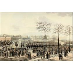 1825, l'insurrection décembriste en Russie