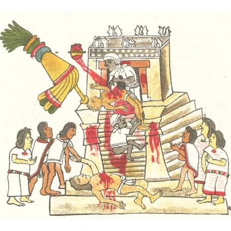 Les Aztèques, le culte des sacrifices humains