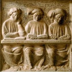 Les universités médiévales et la naissance de la figure de l'intellectuel