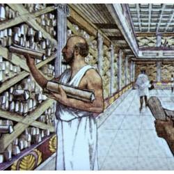 La grande bibliothèque d'Alexandrie