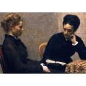 Marie Curie et Bronia Dluska