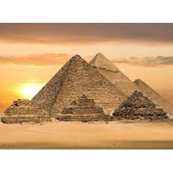 La construction de la grande pyramide