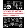 Science et médias, 4ème colloque de zététique de Toulouse 2019