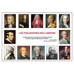 Calendrier PHILOSOPHES DES LUMIÈRES