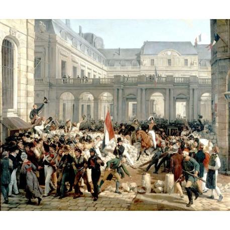 1830, la révolution de Juillet