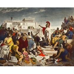 Le peuple spectateur et les adversaires de la démocratie athénienne