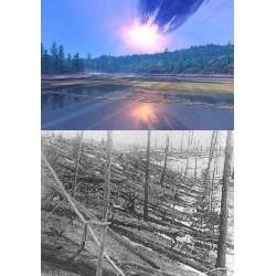 La météorite de Toungouska en Sibérie
